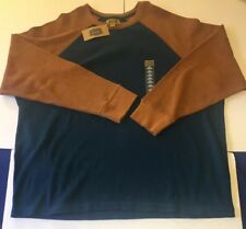 FOUNDRY Men's 2XL Texas Teal Crew Neck A43 New With Tags