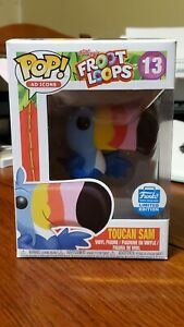Funko Pop Ad Icons Froot Loops Toucan Sam #13 Funko Shop Excl