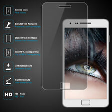 Premium Schutzglas für Samsung Galaxy S2, Echtes Glas, 0,3mm, 99% transparent