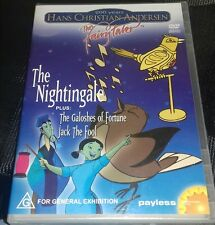 dvd hans christian anderson the nightingale the galoshes of fortune jack the foo