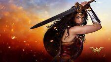 Wonder Woman Poster Length :1200 mm Height: 700 mm  SKU: 1718