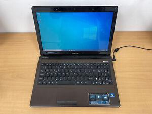 """ASUS K52F 15.6"""" LAPTOP, INTEL CORE i3, 2GB, 500 GB HDD, WIN 10"""