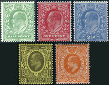 More details for 1911 harrison sg 279-sg 286 perf 15x14 lightly mounted mint single stamps