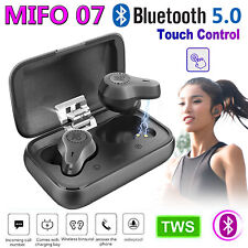 MIFO O7 TWS Wireless BT5.0 Stereo Earphones Earbud Headset In-ear w/Charger Case