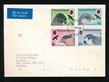FALKLAND ISLANDS 1980 BIRDS SET FIRST DAY COVER