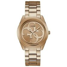 Guess Women's Rose Gold Tone Stainless Steel Watch W1082l3