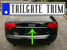Chrome Tailgate Trunk Molding Trim - Audi