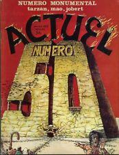 RARE EO ACTUEL N° 50 1975 PARODIES TARZAN + DRUILLET ( LONE SLOANE ) + CRUMB
