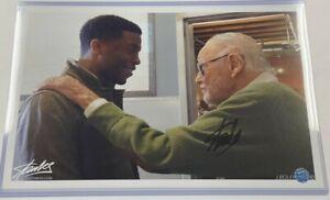 Stan Lee Signed Autograph 11x17 Chadwick Boseman Photo Print Black Panther
