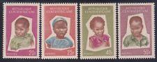 Central African Republic 35-38 MNH 1964 Heads of Children Full Set VF