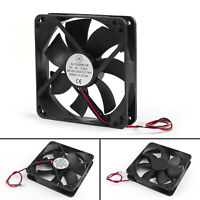 1x DC Brushless Cooling Blower Ventilateur 5V 0.2A 12025s 120x120x25mm 2 Pin