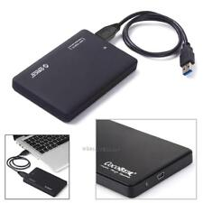 "2.5"" HD Hard Drive Disk External Enclosure PC USB 2.0 SATA HDD Case Caddy Box"