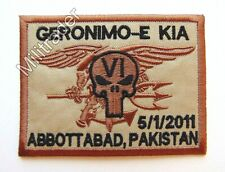 United States US Navy SEALs Operation Neptune Geronimo-E KIA 5/1/2011 Patch