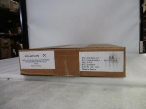 *New* ERGO WM-0023-47F Keyboard Tray W/Wrist Rest & Sliding Mouse Trays (B905)