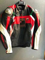Leather Jacket Ducati Corse C3 9810373 - dainese offer! Genuine Ducati