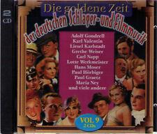 Die goldene Zeit der deutschen Schlager- und Filmmusik  - Vol. 9 | 2-CD-Album