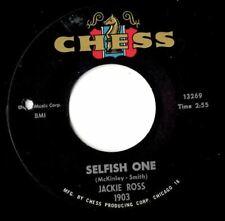 Jackie Ross  Selfish one     Northern soul popcorn MINT-