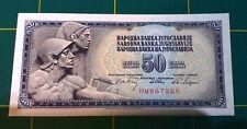 1968 YUGOSLAVIA 50 DINARA NOTE - paper money - UNC
