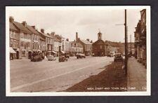 Durham Stockton-on-Tees YARM High Street George & Dragon used 1958 RP postcard