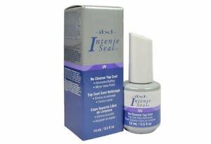 IBD Intense Seal UV Gel Top Sealer 0.5 oz - Best Top Coat for Acrylic