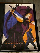 The Avengers: Hawkeye by Tom Whalen - Print Poster Mondo #207/220 Marvel