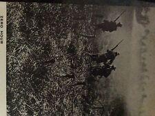 M6-9e ephemera 1918  ww1  picture american troops front line attack st mihiel