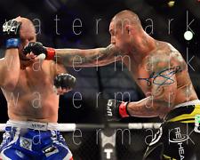 Thiago Silva signed UFC MMA 8X10 poster picture autograph RP