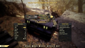 fallout 76 xbox one, Bloodied, Explosive, Laser