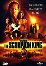 PELICULA DVD THE SCORPION KING:EL REY ESCORPION PRECINTADA