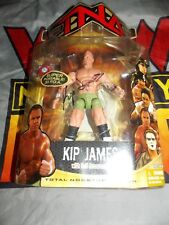 TNA Impact Marvel Toybiz Series 5 Kip James MOC Signed Autograph WWE Billy Gunn