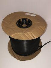 Screen Spline- Flat Black Vinyl Spline .290 1000 ft Pool Cage Pet Florida Glass