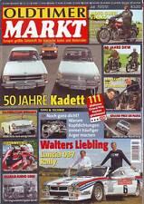 Oldtimer Markt 7/2012 Opel Kadett/Moto Guzzi V7 700/750 Special/ v 850 GT/07/12