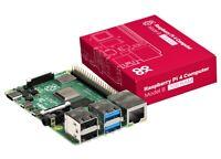Raspberry SC15184 Pi 4 Model B 2019 Quad Core 64 Bit WiFi Bluetooth (2GB) - NEW