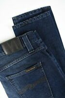 RRP $145 NUDIE LEAN DEAN DEEP COBALT Men's W32/L30 Organic Stretch Jeans 4317*mm