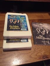 The Mills Brothers,memories Nice And Easy 2 Tape Set 1978-8 Track Tapes