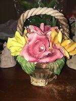capodimonte flowers basket