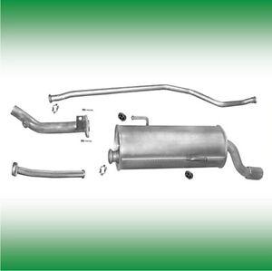 Komplette Auspuffanlage mit Montagesatz Peugeot 206 1.1 1.4 2000-2009