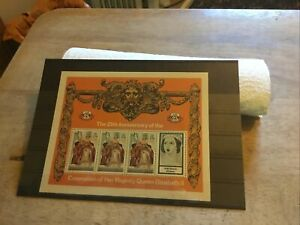 Turks & Caicos Unmounted Mint Stamp Miniature Sheet