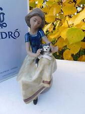 Lladro Figurine Repose Retired Model 12169 Mint Condition Boxed