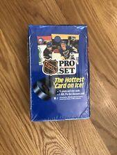 1990 Pro Set NHL Hockey Cards Series 1 New Sealed Blue 092801905110