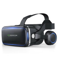 3D VR Headset Glasses Virtual Reality 360 Panoramic for iPhone AndroidSamsungBHQ