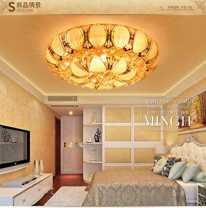 Elegant Modern Crystal Ceiling Fixture Lamps Chandelier LED Lighting Lights 2016