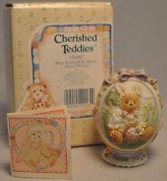 Cherished Teddies - Bear Dressed As Bunny - 156507 - Egg