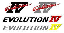 Mitsubishi Evolution 4 IV Decal Sticker Kit