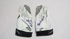 2012 Kyle Arrington New England Patriots Super Bowl XLVI Game Used Worn Gloves!