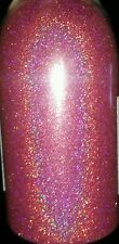 Pink Holographic .004 True Ultra Fine Nail Glitter Art Dust Powder DIY Polish!