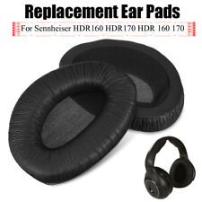 2pcs Ear Pad Cushion Covers Replacement For Sennheiser HDR160 HDR170 Headphones