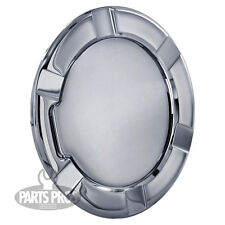 NEW Chrome Non-Locking Gas Fuel Door / FOR FORD F150 TRUCK 1997-2003