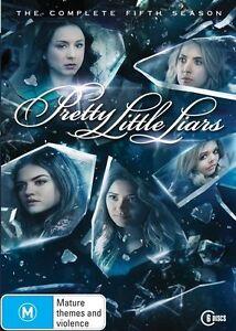 Pretty Little Liars : Season 5 : 6 Disc : NEW DVD