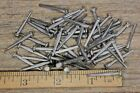 """1"""" Square NAILS 50 quantity round small domed head brads vintage antique rustic"""